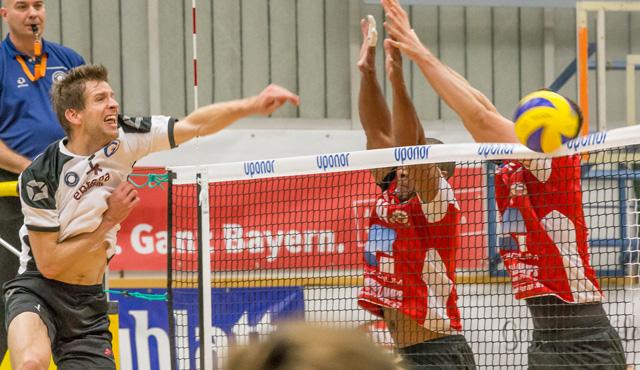 Überstunden beim Catering in Eltmann - Foto: VC Eltmann / Oshino Volleys Eltmann