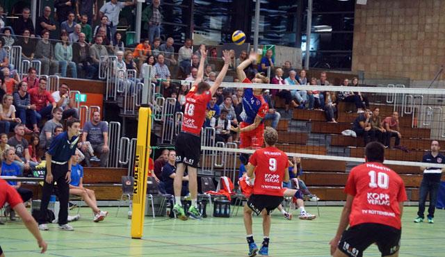 TVR verliert 0:4 gegen die United Volleys und erhält neue Eindrücke für die kommenden Trainingswochen - Foto: Axel Schunack