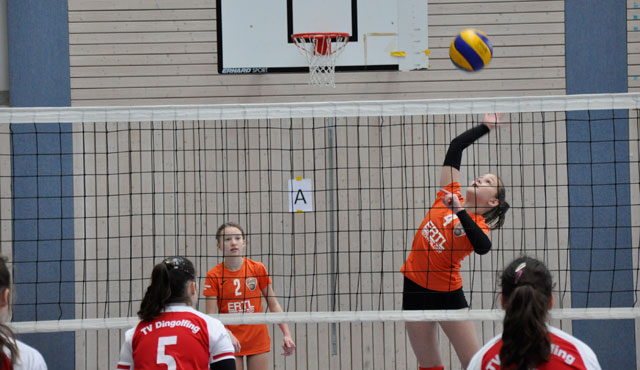 Volleyball Bayernpokal 2018 am Wochenende in Burglengenfeld - Foto: Krause