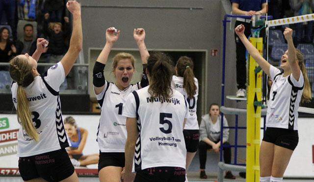 Volleyball-Team Hamburg verliert im Tie-Break - Foto: VTH/Lehmann