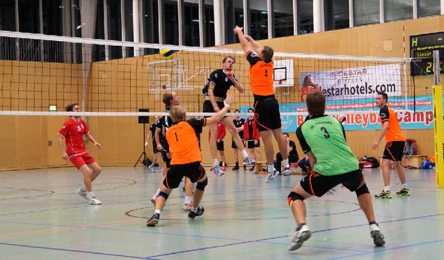 Derby zum Jahresauftakt für die SCF-Volleyballer - Foto: SC Freising