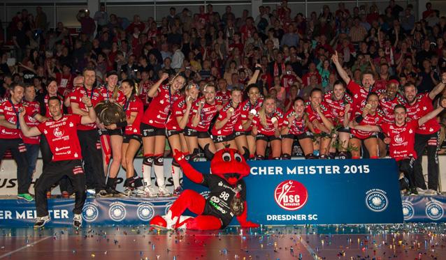 Dresdner SC holt sich die Meisterschaft - Foto: Holger Schulze, A.F.B.media GmbH