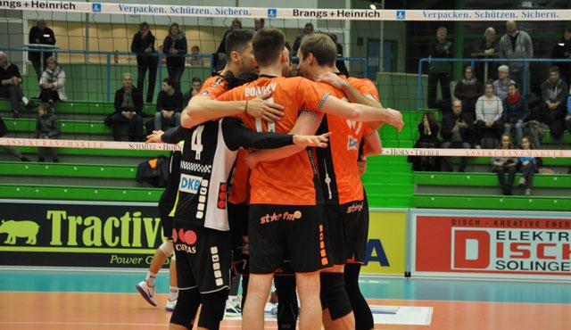 Platz zwei erobert - Foto: BR Volleys
