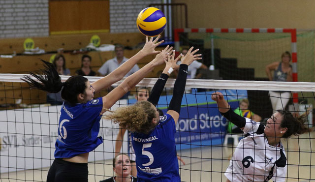 Volleyball-Team Hamburg am Wochenende doppelt gefordert - Foto: VTH/Lehmann
