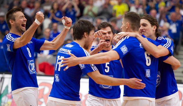 Friedrichshafen legt im Finale vor  - Foto: Günter Kram
