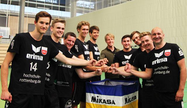 Bundesligavolleyballer des TV Rottenburg starten in die Vorbereitung - Foto: TVR Volleyball