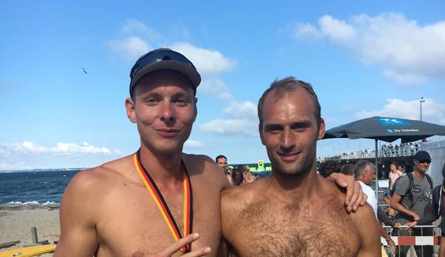 Netzhoppers Neuzugang mit überragender Leistung bei den Deutschen Beach-Volleyball- Meisterschaften - Foto: Dirk Westphal, Netzhoppers