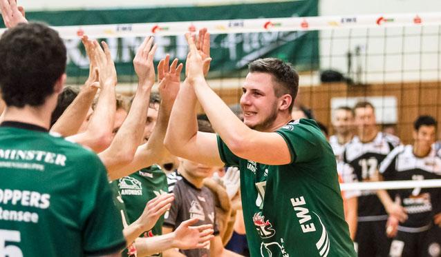 Alter Neuzugang: Matthias Böhme wieder bei den NETZHOPPERS - Foto: Gerold Rebsch