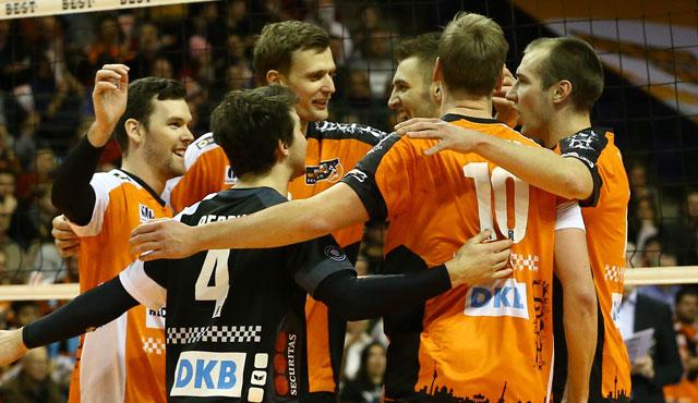 BR Volleys behaupten sich im Topspiel - Foto: Eckhard Herfet
