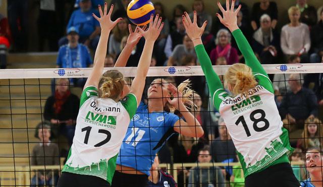 VC Wiesbaden verliert Nervenschlacht gegen Münster - Foto: Detlef Gottwald