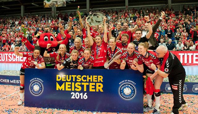 Dresden zum dritten Mal in Folge Deutscher Meister! - Foto: Corbin Hackley