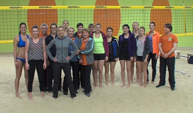 Sport ist beim VC Wiesbaden kein Mord - Foto: Peter Knapp