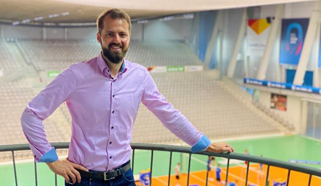 Thilo Späth-Westerholt übernimmt die Geschäftsführung beim VfB Friedrichshafen<br>Foto: Steuerwald