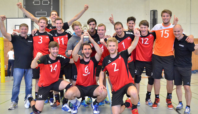 SSC Karlsruhe gewinnt Verbandspokal - Foto: SSC Karlsruhe - Volleyball