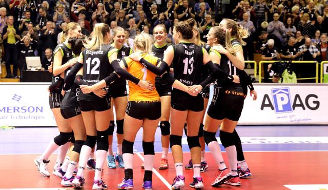 Ladies in Black holen in einem Nervenspiel 2 Punkte gegen Potsdam - Foto: www.photo-steindl.com