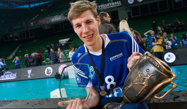 """Max Günthör hat den """"alten"""" Pokal gleich achtmal gewonnen<br>Foto: Conny Kurth, www.kurth-media.de"""