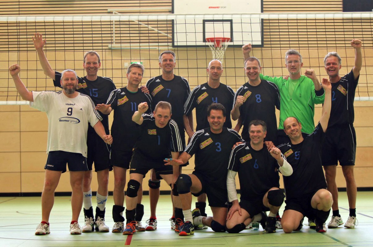 SG Rodheim-Volleyballer schrammen an der Sensation vorbei - Foto: SG Rodheim