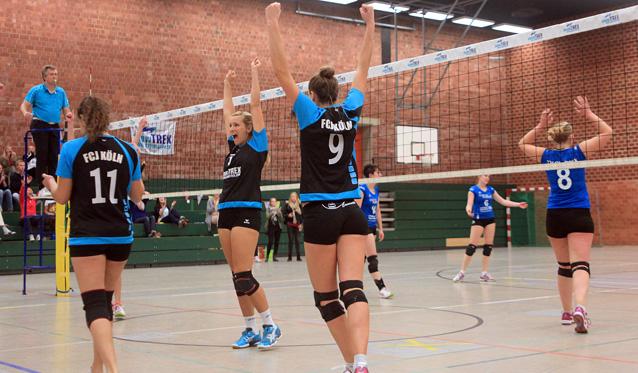 Kölner Volleyballerinnen verspielen Regionalliga-Tabellenführung - Foto: Ulla Barnick