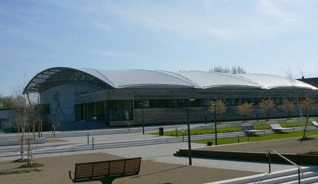 Neue Halle wird just in time zum Volleyball Bayernpokal fertig - Foto: Stefan Fürst