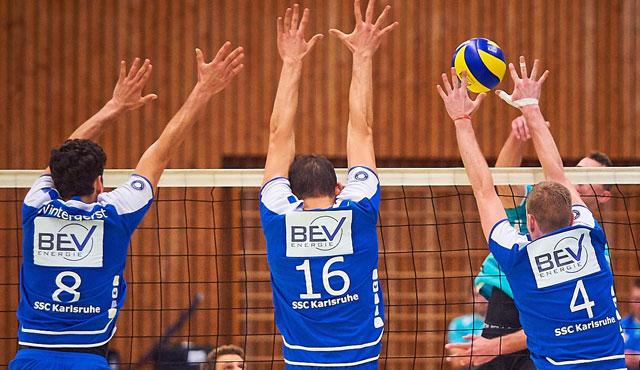 SSC holt gegen YoungStars Friedrichshafen zweiten Sieg in Folge - Foto: SSC Karlsruhe-Volleyball