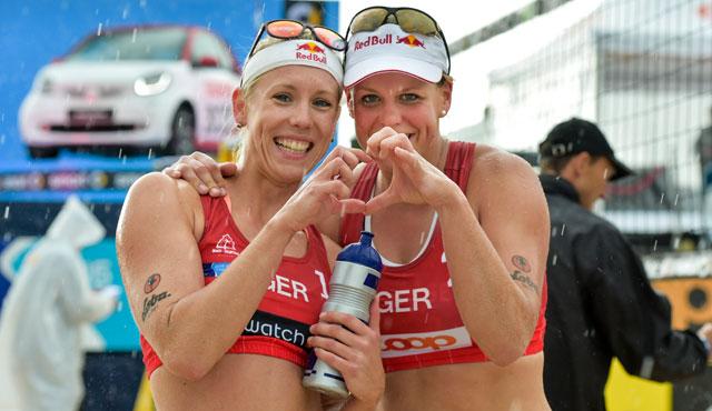 Karla Borger und Britta Büthe<br>Foto: www.tombloch.de