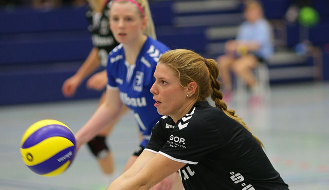 Skurios Volleys Borken - VC Allbau Essen 3:0  - Foto: Tom Schulte