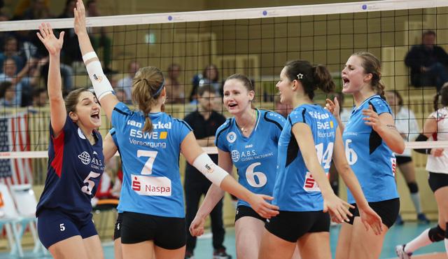Historisches Europapokalspiel: VCW empfängt C.S.M. Bucuresti - Foto: Detlef Gottwald