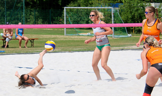 """2.Bundesliga Beachvolleyball"" in Lohhof - Foto: SV Lohhof"