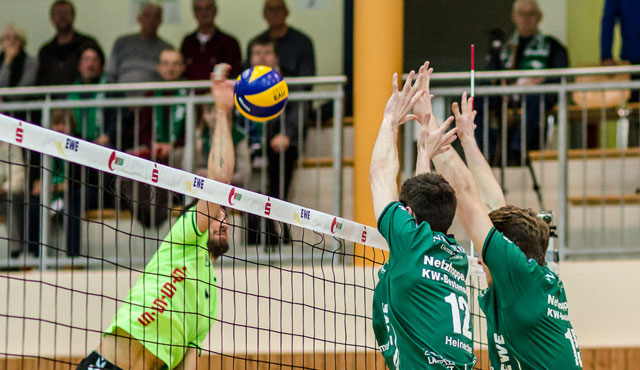 Netzhoppers mit gutem Los im DVV-Pokal - Foto: Gerold Rebsch