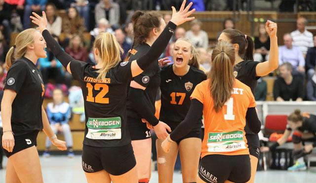 NawaRo Straubing erobert Tabellenspitze der 2. Volleyball Bundesliga - Foto: Gerwig Löffelholz