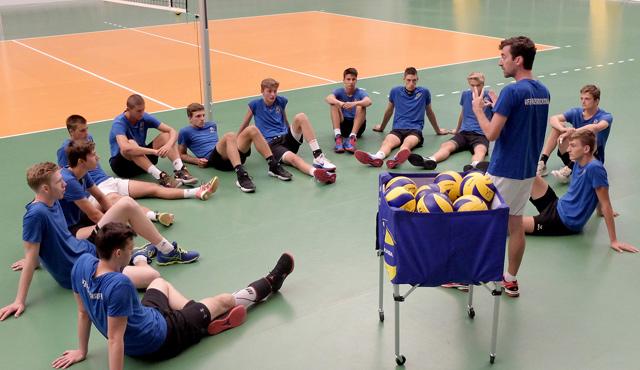 Volley YoungStars gehen motiviert in die Saisonvorbereitung - Foto: Gunthild Schulte-Hoppe