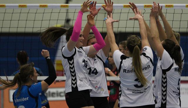 Volleyball-Team Hamburg vor Saisonrekordkulisse mit starker Vorstellung  - Foto: VTH/Lehmann