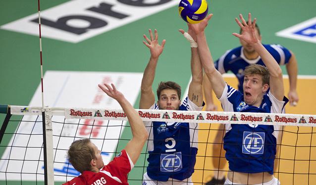 Simon Tischer und Max Günthör wollen auch im Pokalfinale den Sieg einfahren<br>Foto: Günter Kram