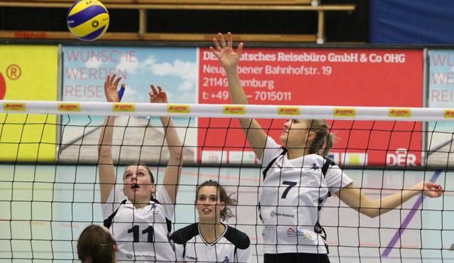 Blau-Weiß Dingden zu Gast beim Volleyball-Team Hamburg  - Foto: VTH/Lehmann