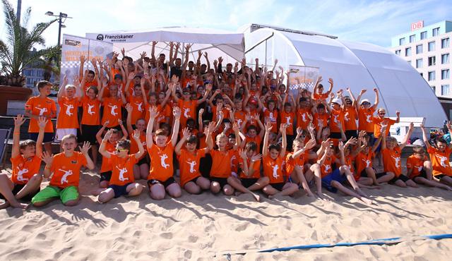 Start der großen Beach-Woche - Foto: Eckhard Herfet