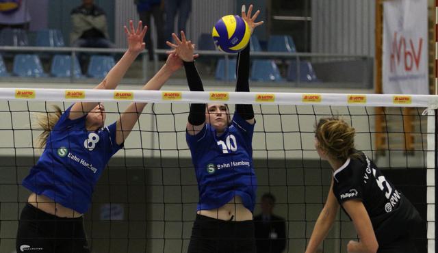 Volleyball-Team Hamburg will Abstiegskonkurrenten auf Distanz halten - Foto: VTH/Lehmann