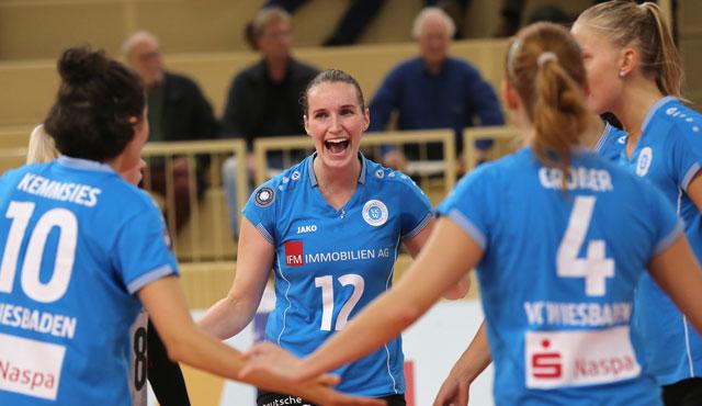 VC Wiesbaden verlängert mit Sina Fuchs bis 2019  - Foto: Detlef Gottwald
