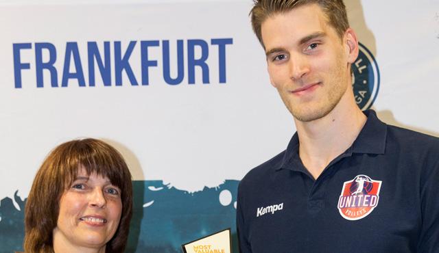 Dünnes ist der Wertvollste - Foto: United Volleys/Manfred Neumann
