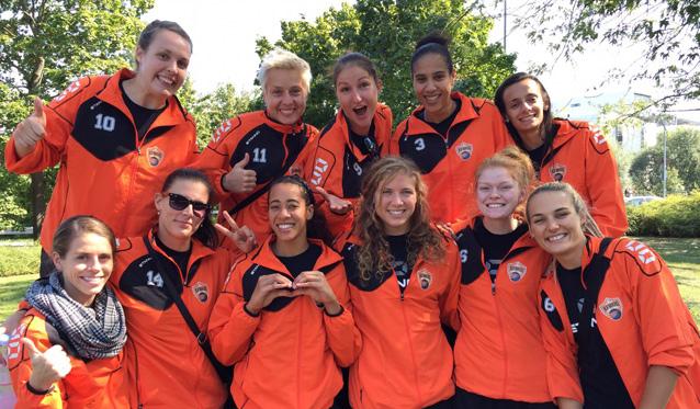 Testspielsieg für NawaRo gegen die Roten Raben Vilsbiburg - Foto: Senft