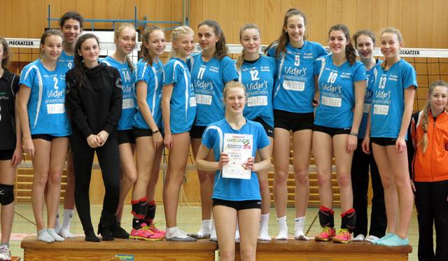 SV Lohhof: Die U16 weiblich wird Südbayerischer Meister - Foto: Svenja Hummel