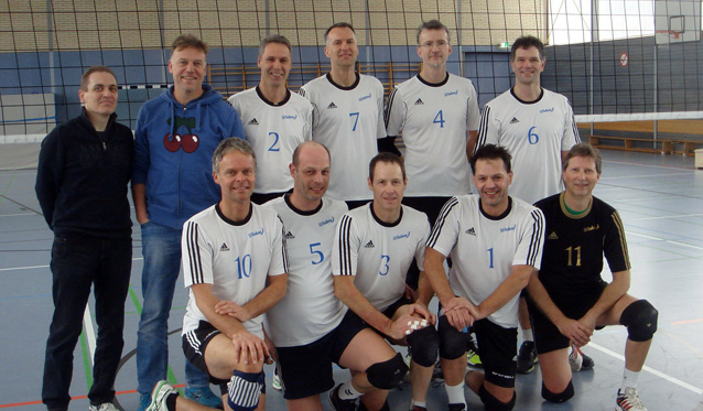 Rodheimer Senioren Ü47 gewinnt ohne Satzverlust Hessen-Titel - Foto: Marcel Kopperschmidt