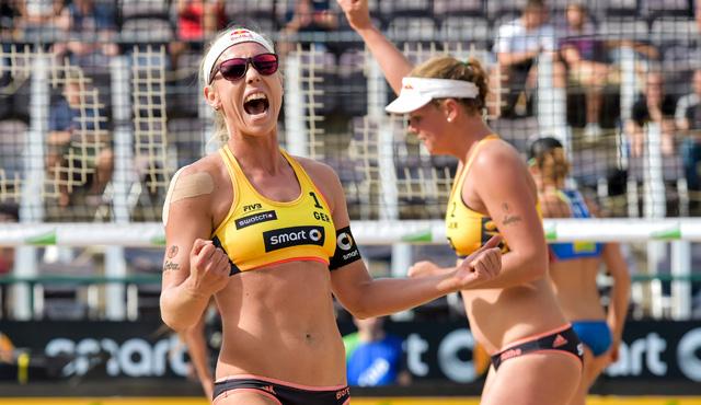 Borger/Büthe sichern sich das Rio-Ticket in Hamburg - Foto: www.tombloch.de