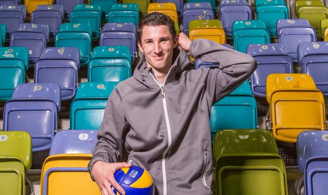 Mittelblocker mit riesigem Potenzial kommt zu den United Volleys - Quelle: United Volleys/Manfred Neumann