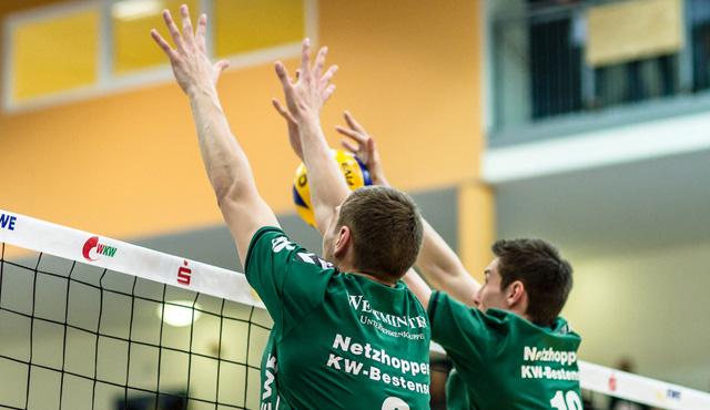 """Netzhoppers verlieren die """"best of three""""-Serie mit 0:2 - Foto: Gerold Rebsch"""