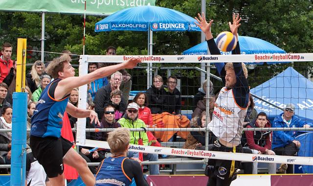 Augsburg ist heiß auf Beachvolleyball -