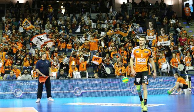 BR Volleys fiebern CL-Playoff-12 entgegen - Foto: Eckhard Herfet