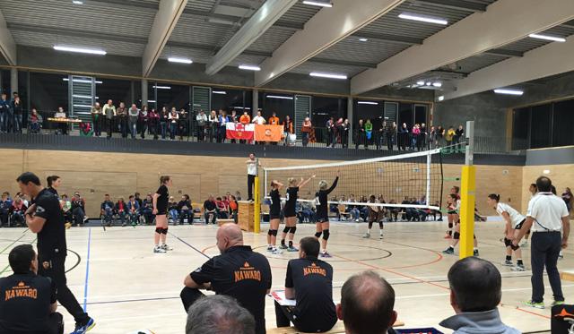 Zum Abschluss respektable 2:3-Niederlage gegen die Roten Raben Vilsbiburg - Foto: Senft