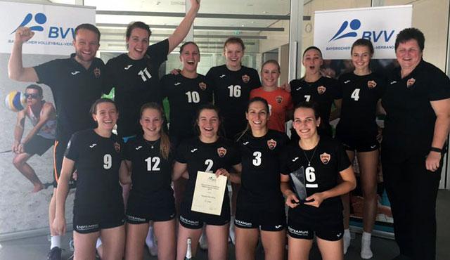 Straubing gewinnt Bayerisches Pokalfinale gegen Sonthofen und steht im DVV-Pokal - Foto: NawaRo Straubing