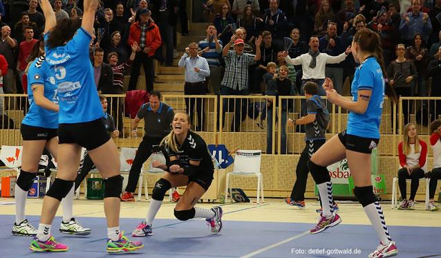 Endlich wieder ein Heimspiel: VC Wiesbaden erwartet VolleyStars aus Thüringen - Foto: Detlef Gottwald