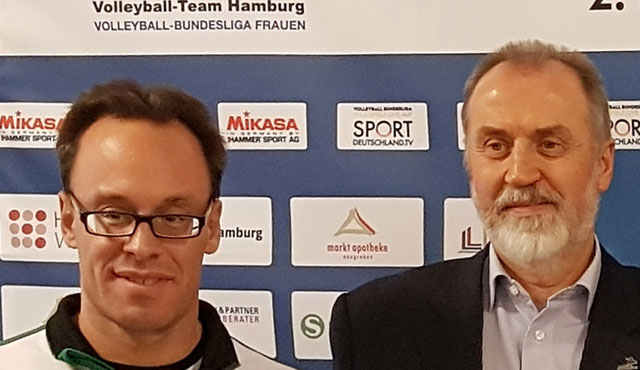 Das Volleyball-Team Hamburg und die Hausbruch-Neugrabener Turnerschaft gehen gemeinsame Wege - Foto: VTH/Lehmann